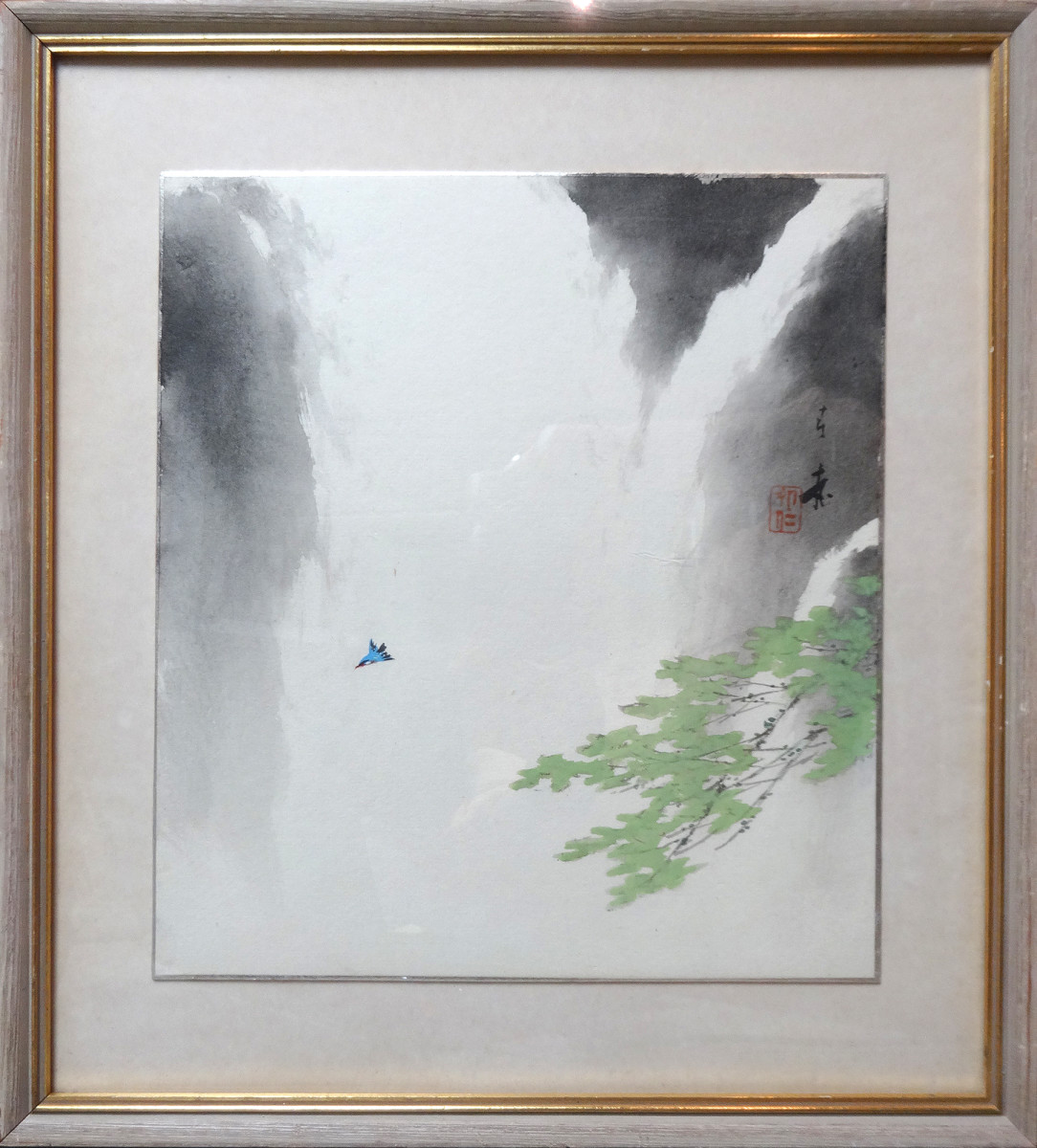 2125 - Untitled, Blue Bird by Japanese