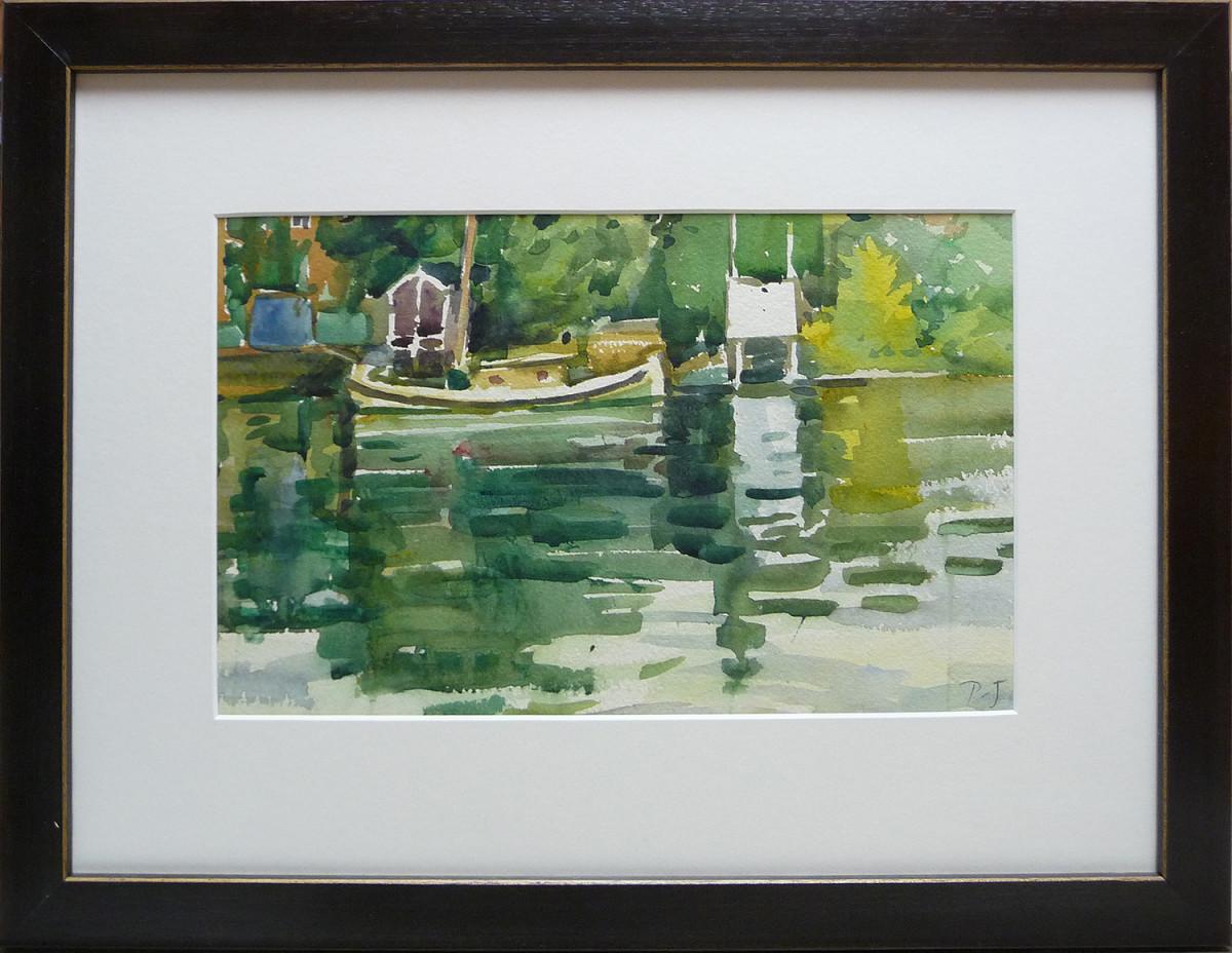 2313 - Boat - Richmond by Llewellyn Petley-Jones (1908-1986)