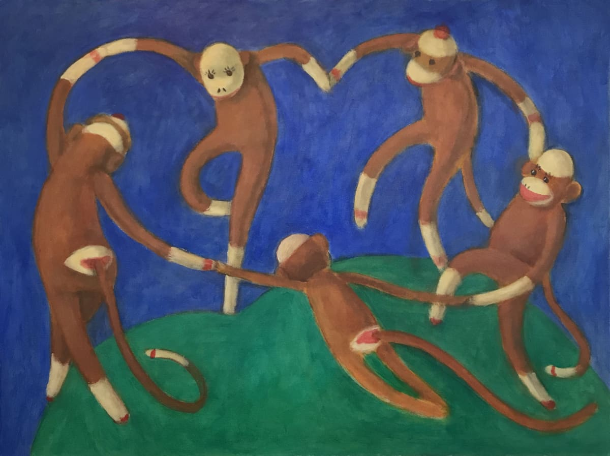 1037 - Dancers by Thomas Anfield