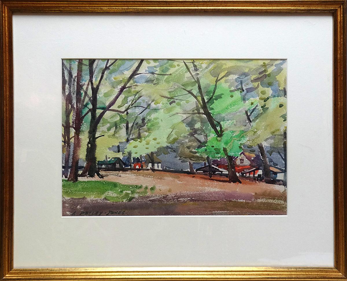 2439 - Edge of the Park by Llewellyn Petley-Jones (1908-1986)