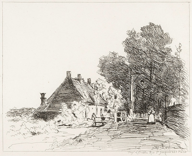 2996 - Views of Holland by Joan Barthold Jongkind