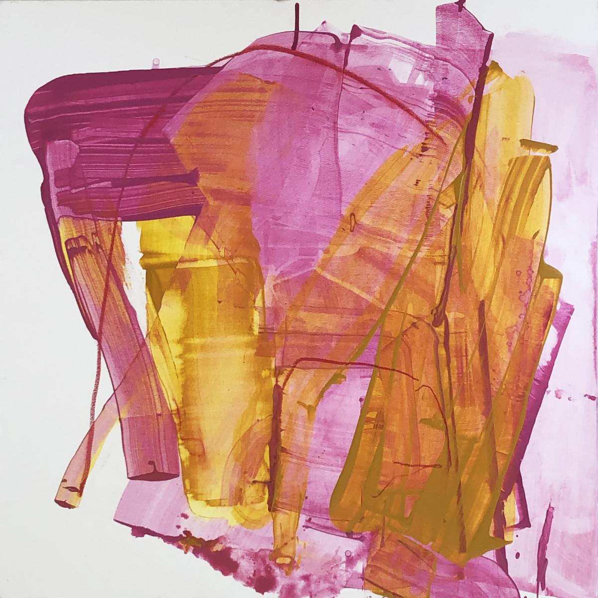 What Helen Knew (Frankenthaler's red line) by Laura Viola Preciado
