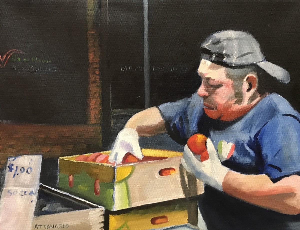 Selling Tomatoes by John Attanasio