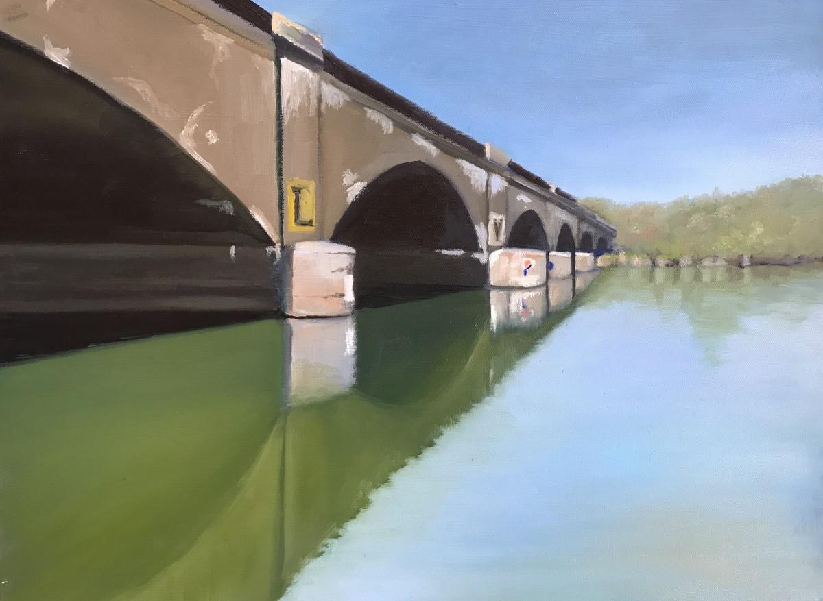 Columbia Bridge by John Attanasio