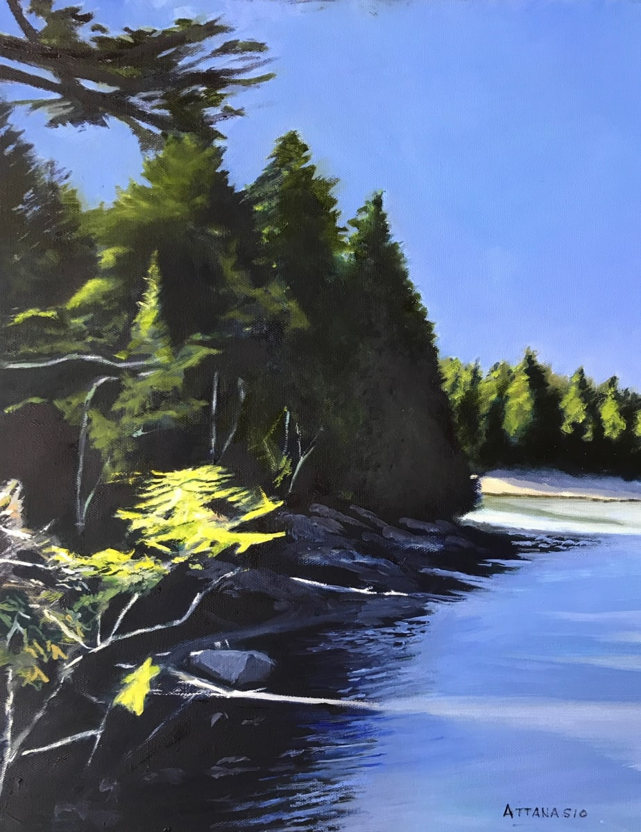 Carrying Place Cove on Dyer Bay by John Attanasio