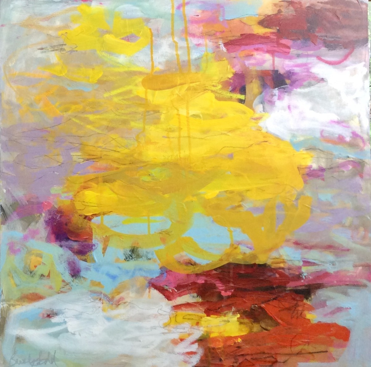 Edges of the World Bloom II by Beverly Todd