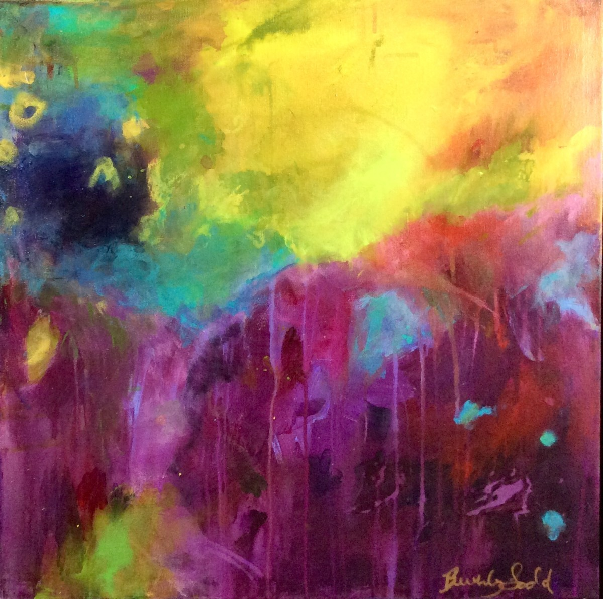 Lemon Triffle Sunshine Day by Beverly Todd