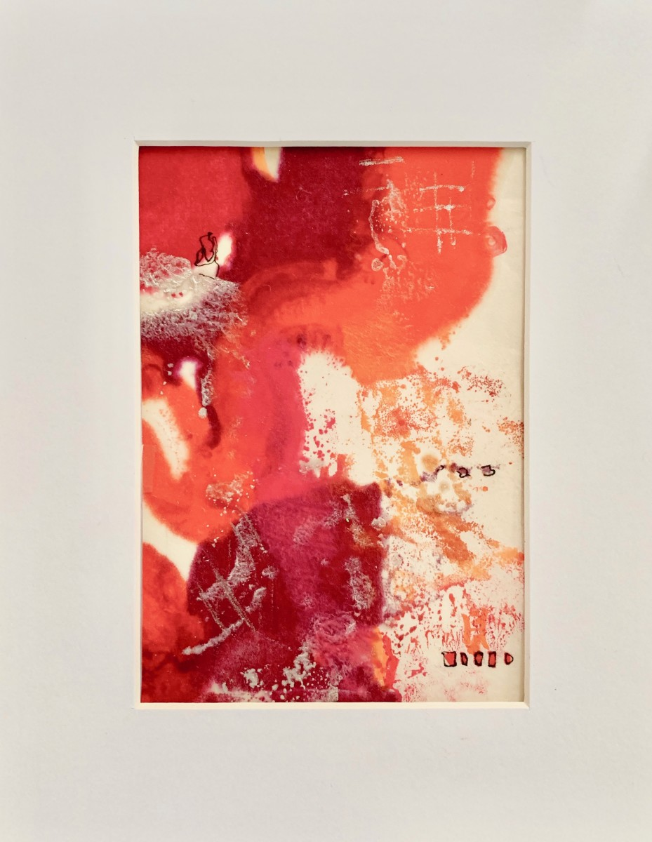 Encaustic Monotype 1