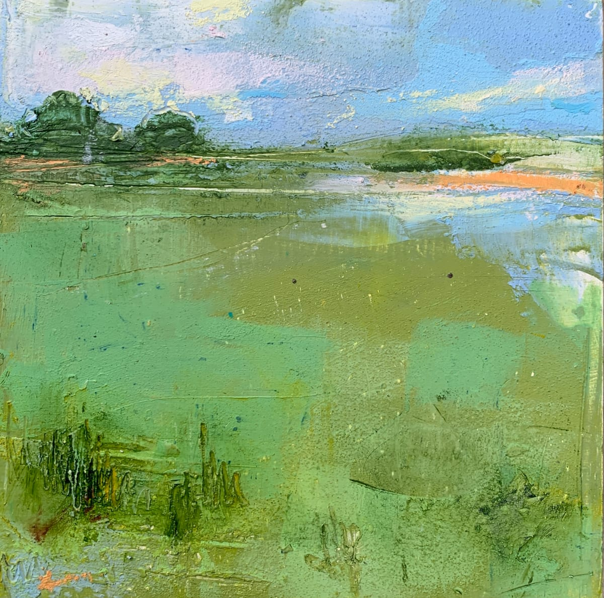 Little Landscape #5 by Sally Hootnick