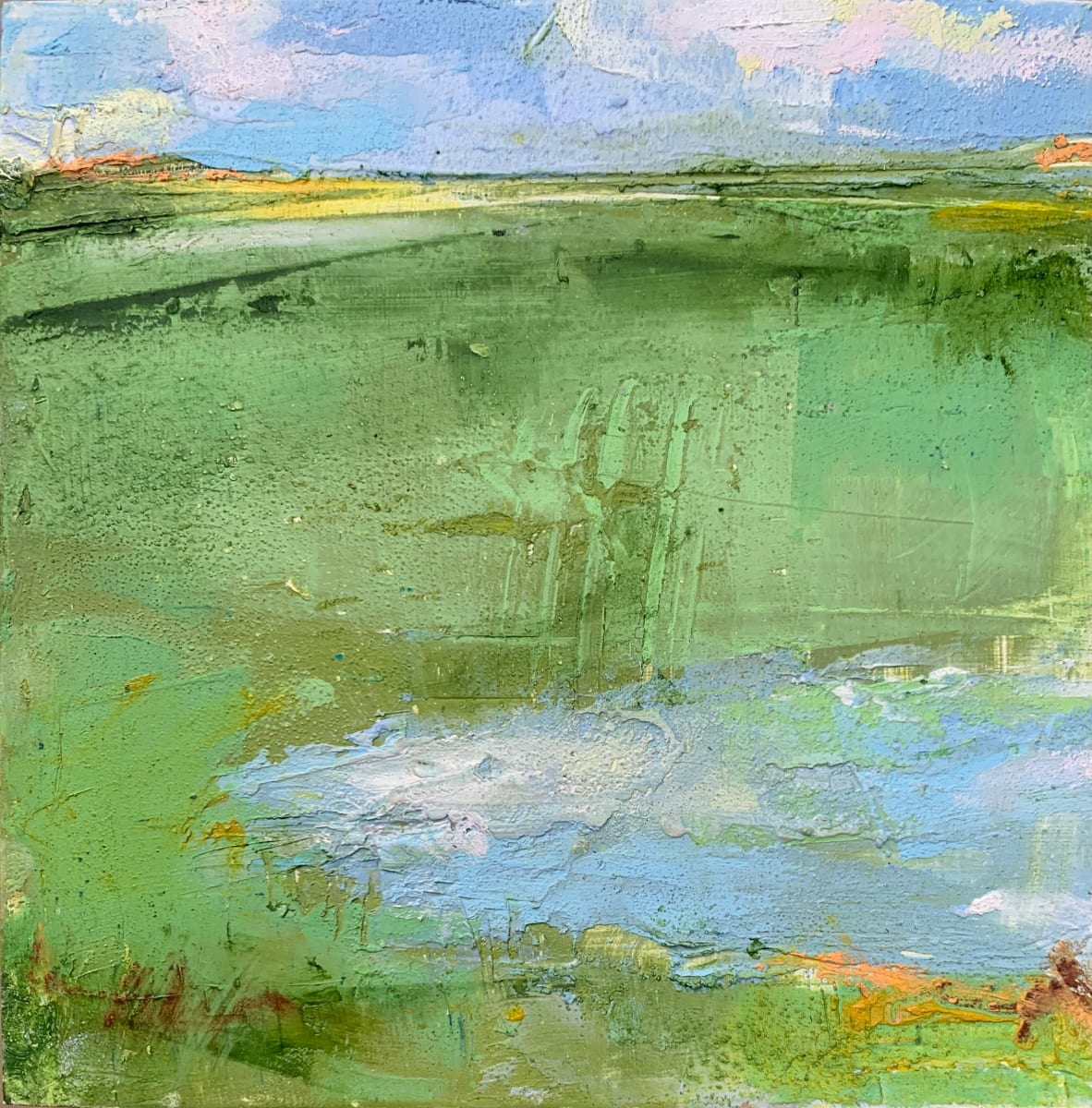 Little Landscape #2 by Sally Hootnick