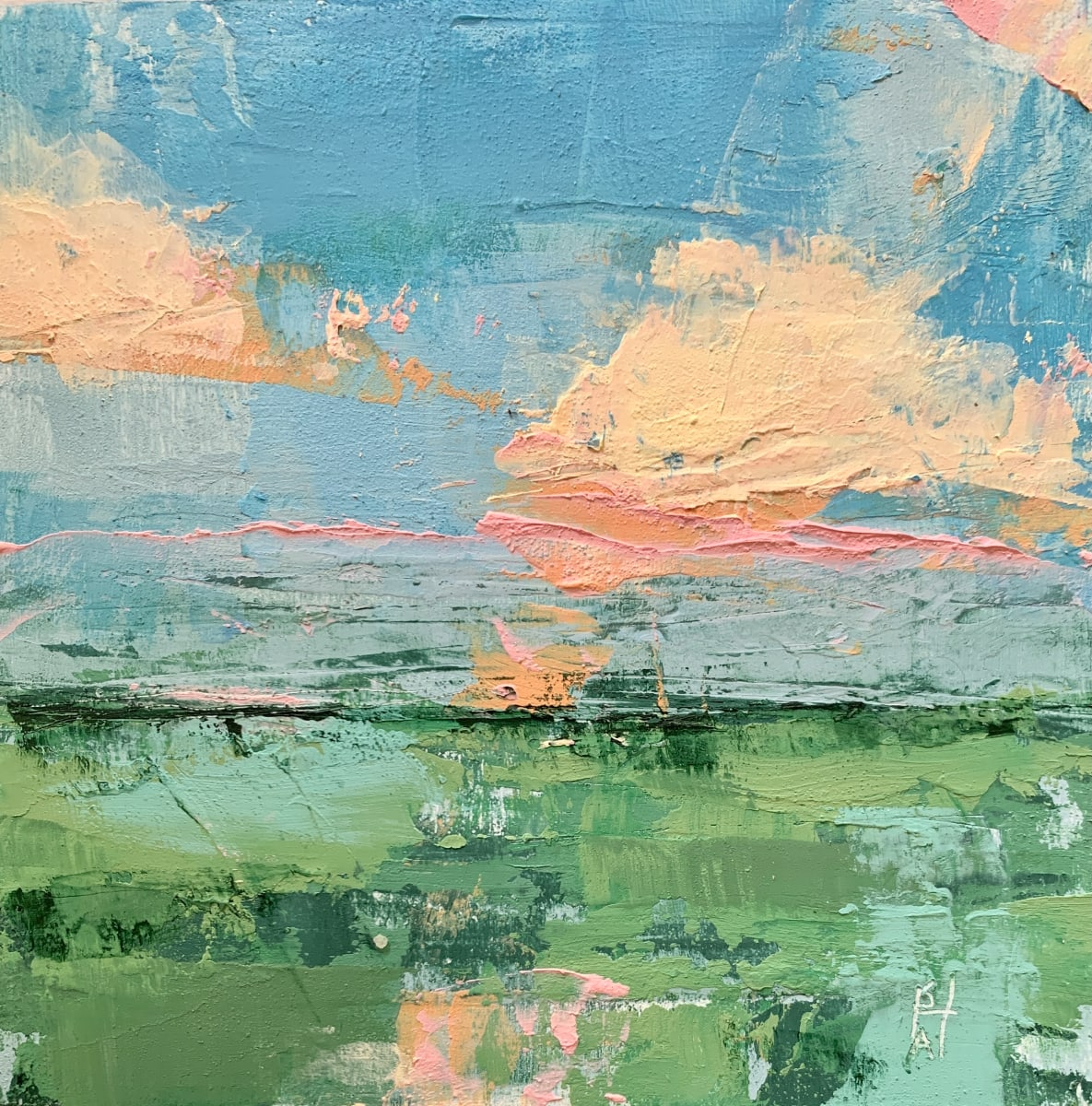 Little Landscapes #7 by Sally Hootnick