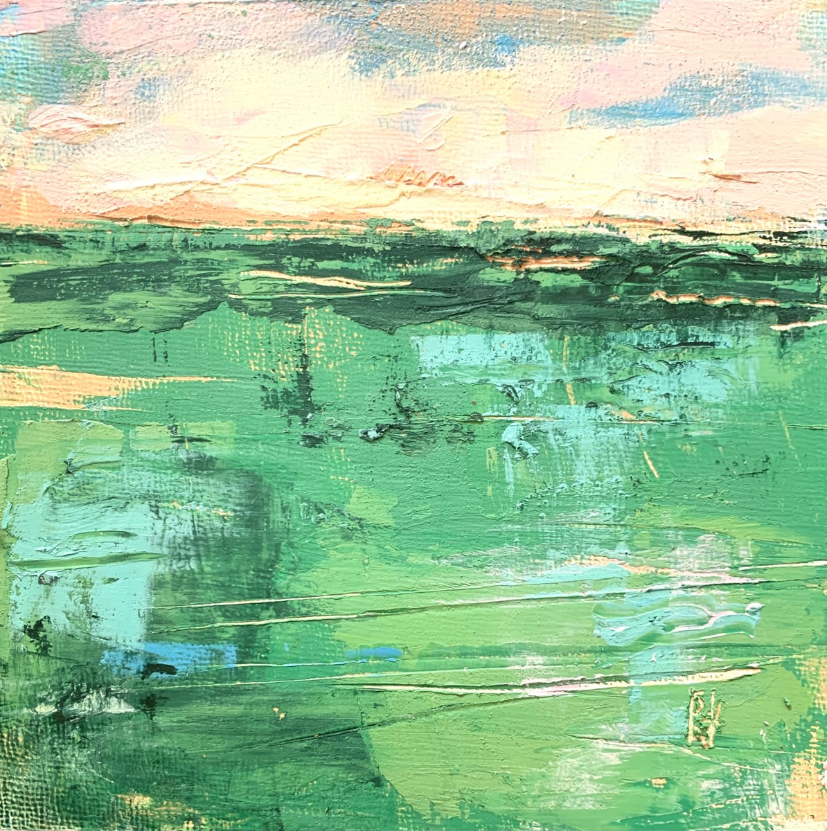 Little Landscapes #8 by Sally Hootnick