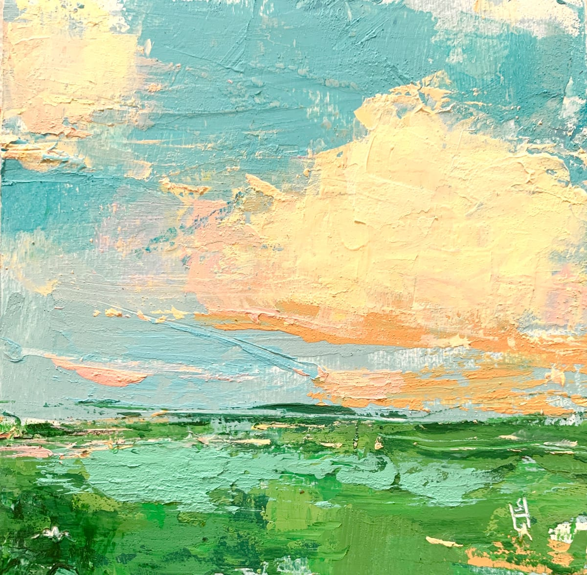 Little Landscape #10 by Sally Hootnick
