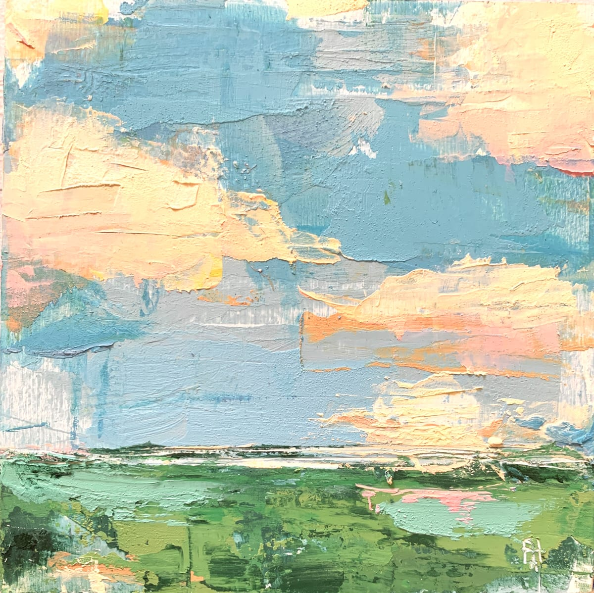 Little Landscape #11 by Sally Hootnick