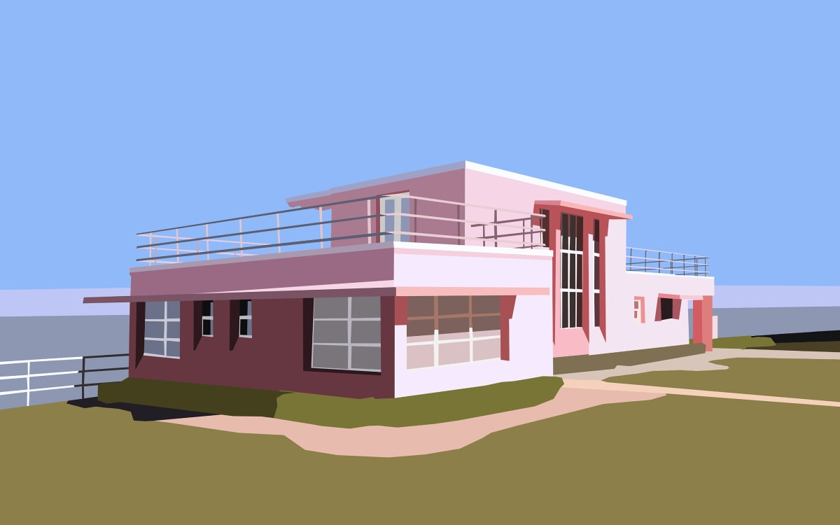 Florida Tropical House by Liz Mares