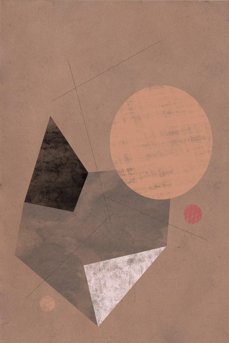 Prehistoric Blueprint #12 by Liz Mares