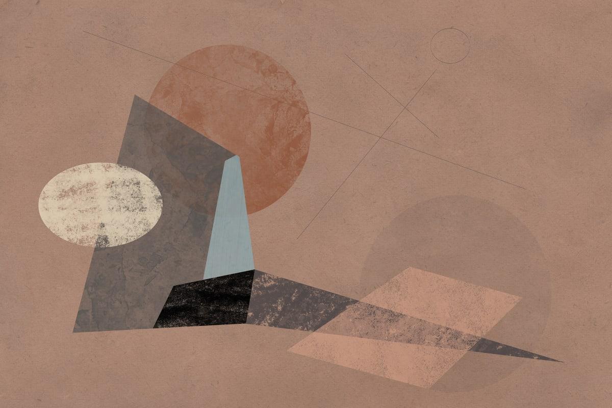 Prehistoric Blueprint #16 by Liz Mares