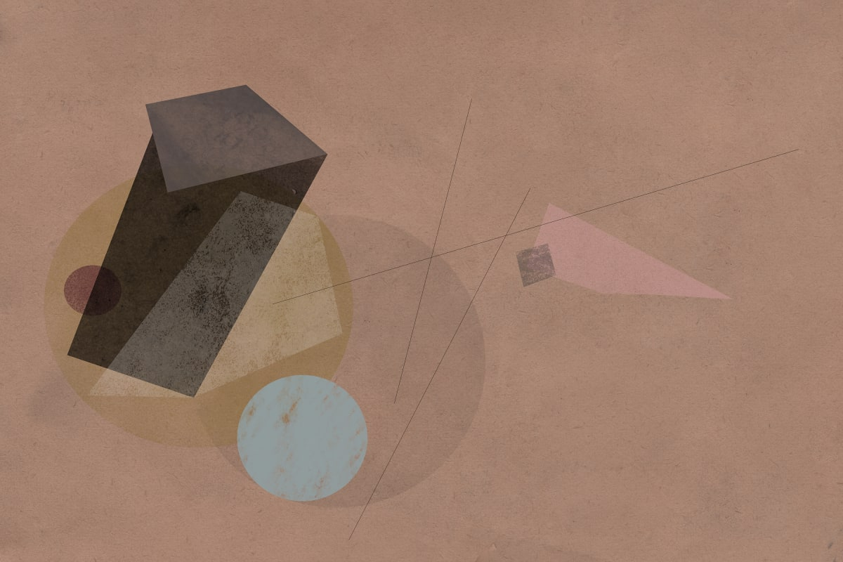 Prehistoric Blueprint #17 by Liz Mares
