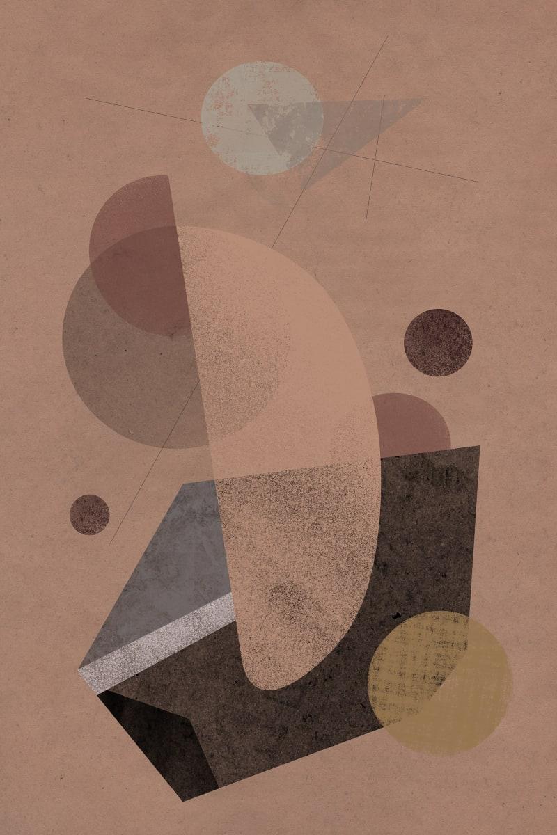 Prehistoric Blueprint #19 by Liz Mares