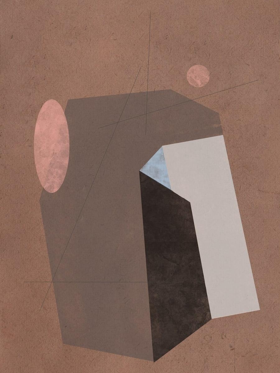 Prehistoric Blueprint #5 by Liz Mares