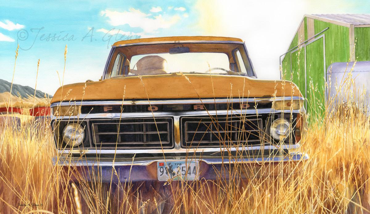 Big Horn County Suncatcher by Jessica Glenn