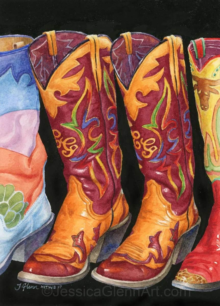 CG Boots by Jessica Glenn