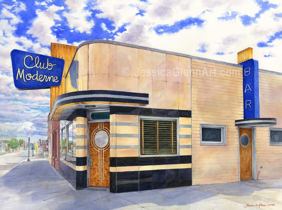 Club Moderne by Jessica Glenn