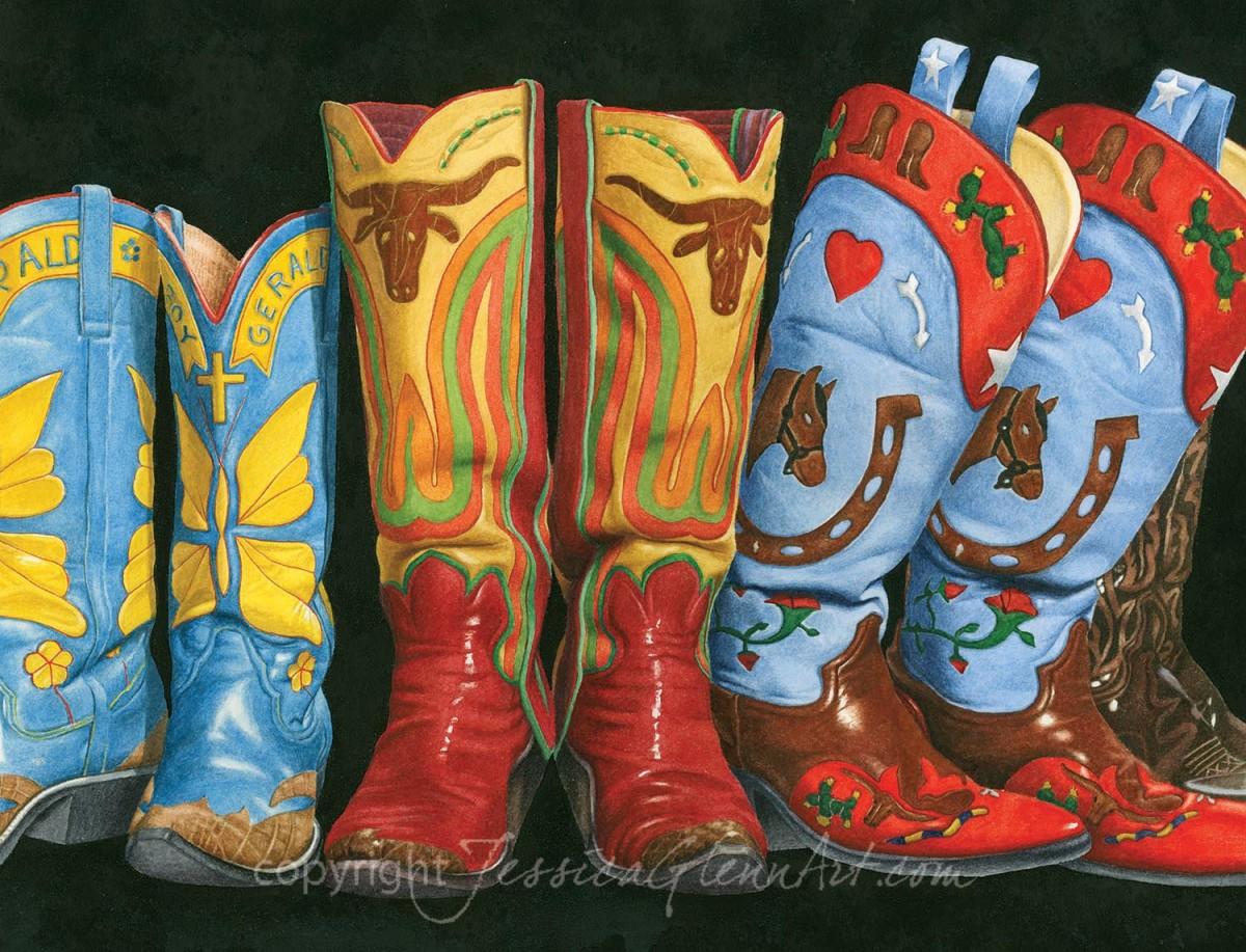 Gerald's Boots by Jessica Glenn