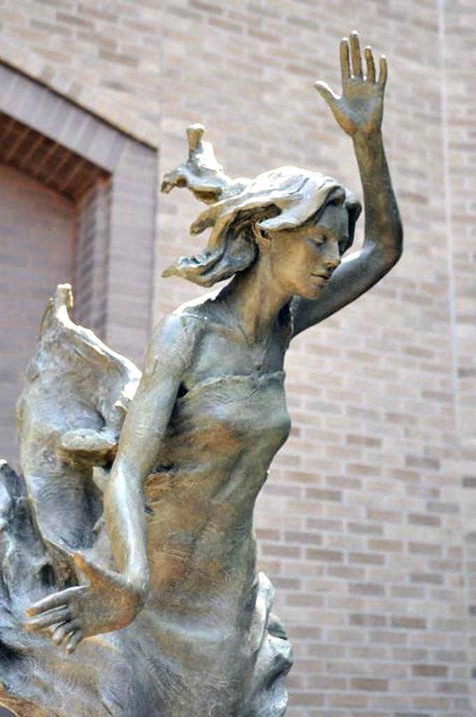 Invitation to Faith (Commission for the Good Samaritan Hospital, Dayton Ohio) by Richard Becker