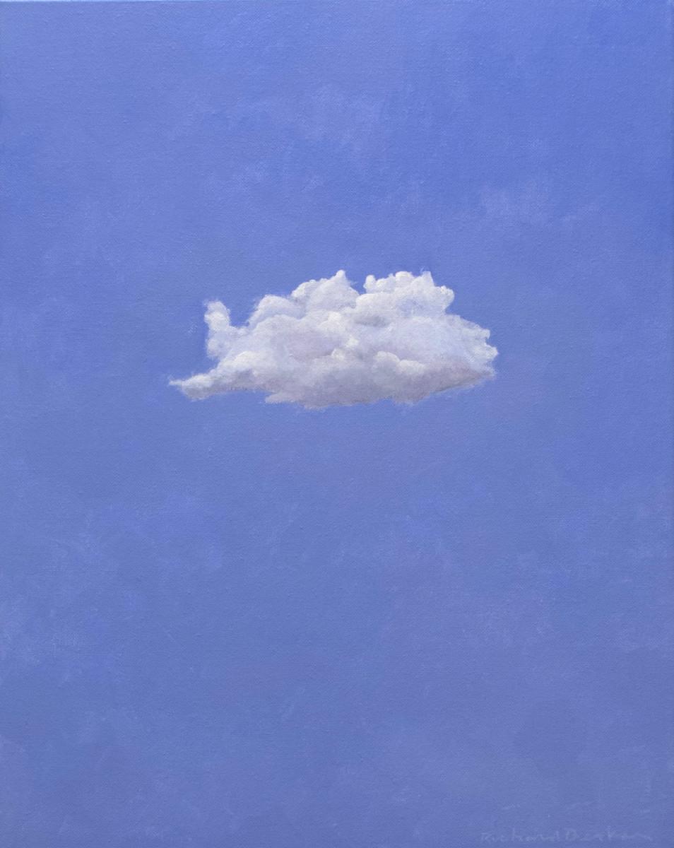 Reclining Cloud by Richard Becker