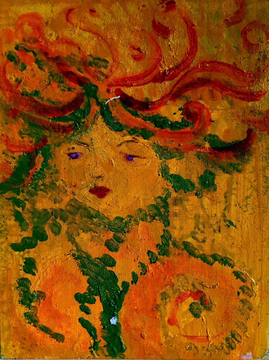 Stefany the Gorgon by Andrea Sartori