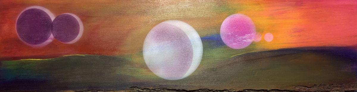 6 Moons (Horizon) by Deborah A. Berlin