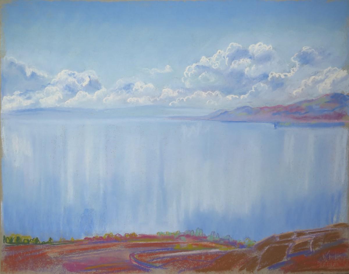Léman, vers le large by LECOULTRE John-Francis (1905-1990)