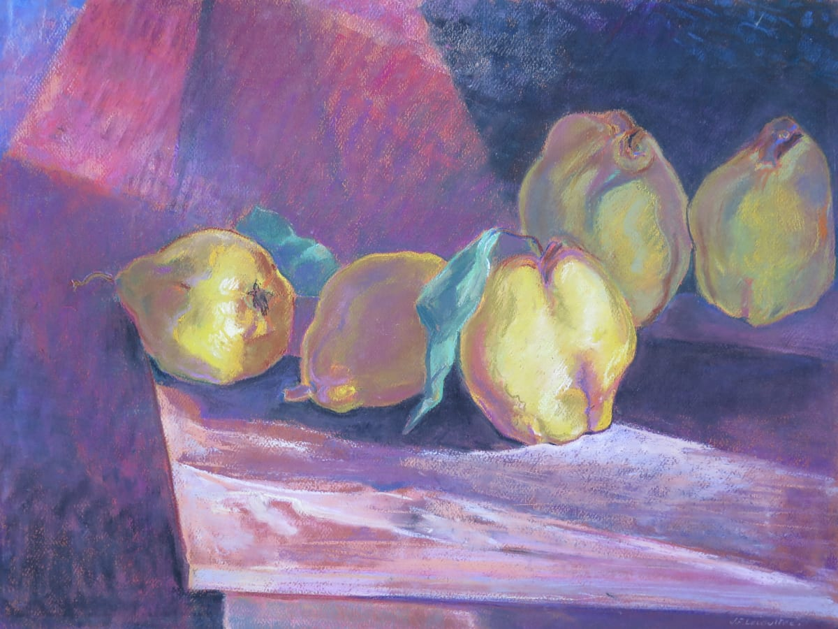 Nature morte aux coings by LECOULTRE John-Francis (1905-1990)