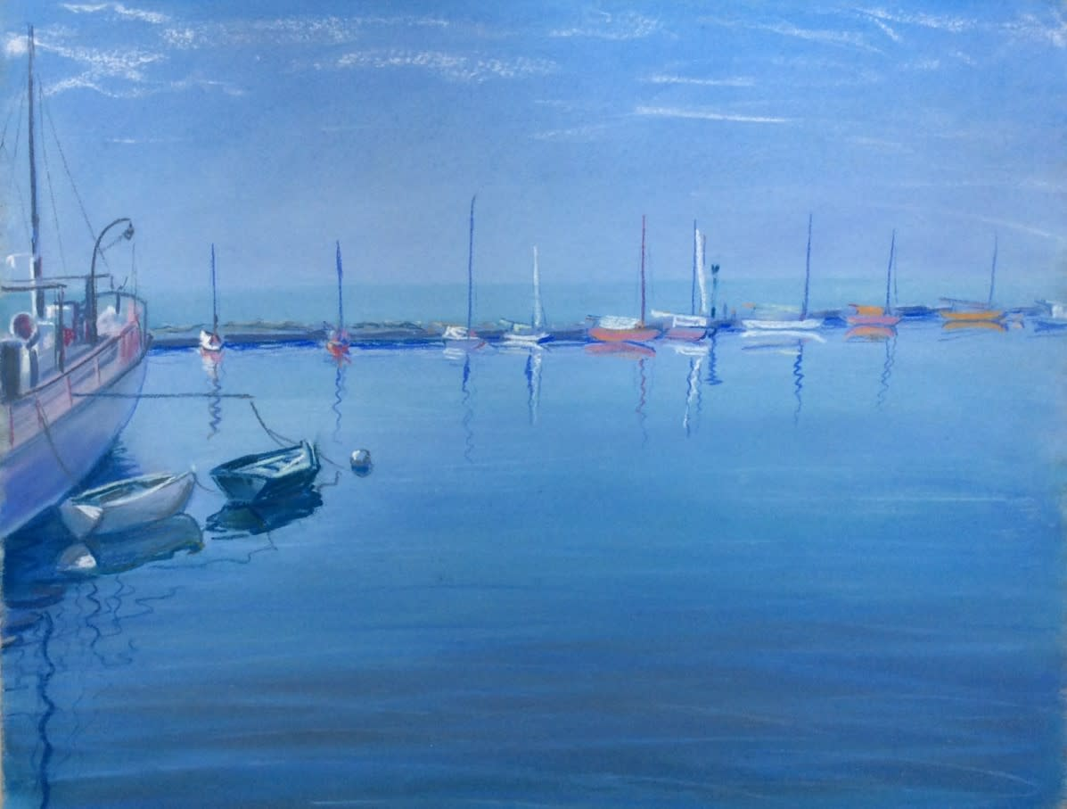 Port  (Ouchy) by LECOULTRE John-Francis (1905-1990)