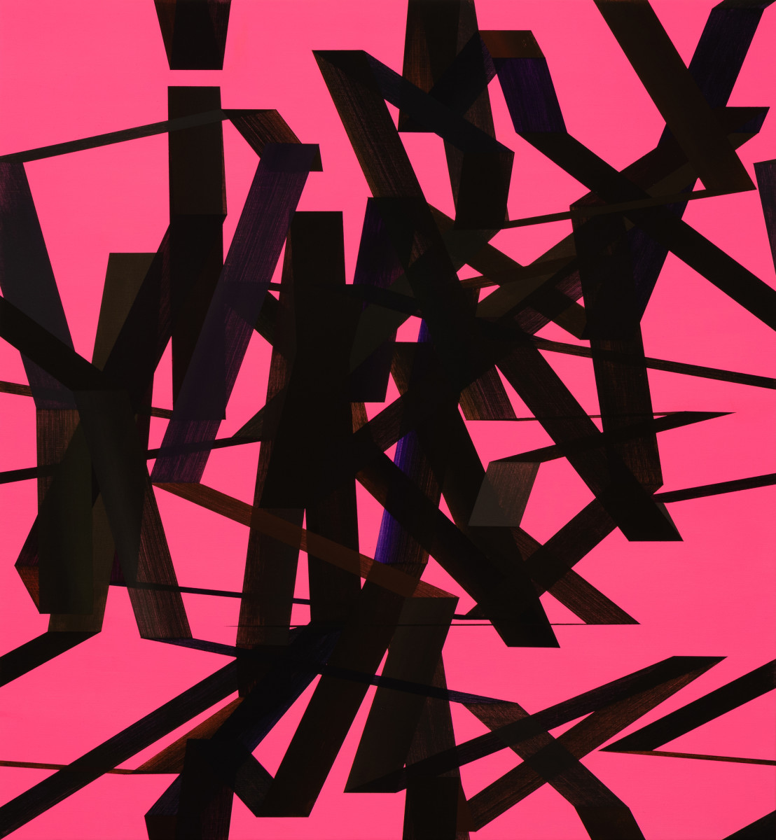Construction (Pink) by Jeff Perrott
