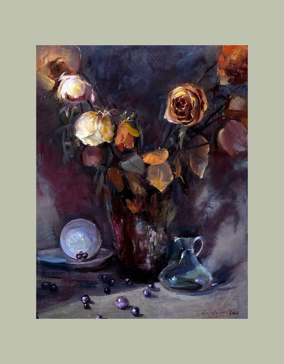 Still Life with Marbles by Deana Evstefeeva