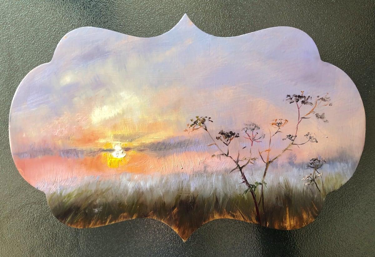 Crisp Serenade of the Morning Fog by Deana Evstefeeva