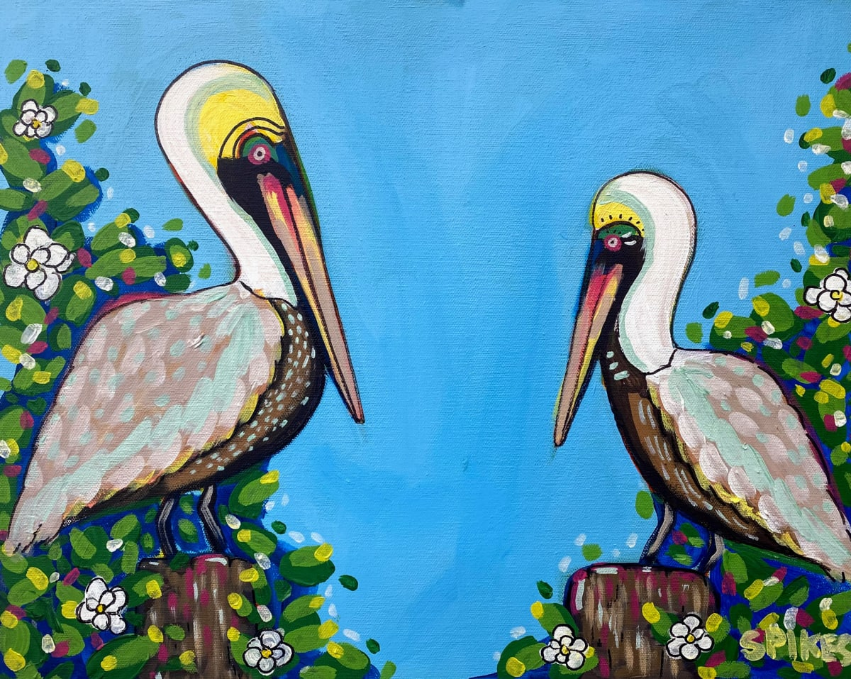 Love Birds by Emily Spikes