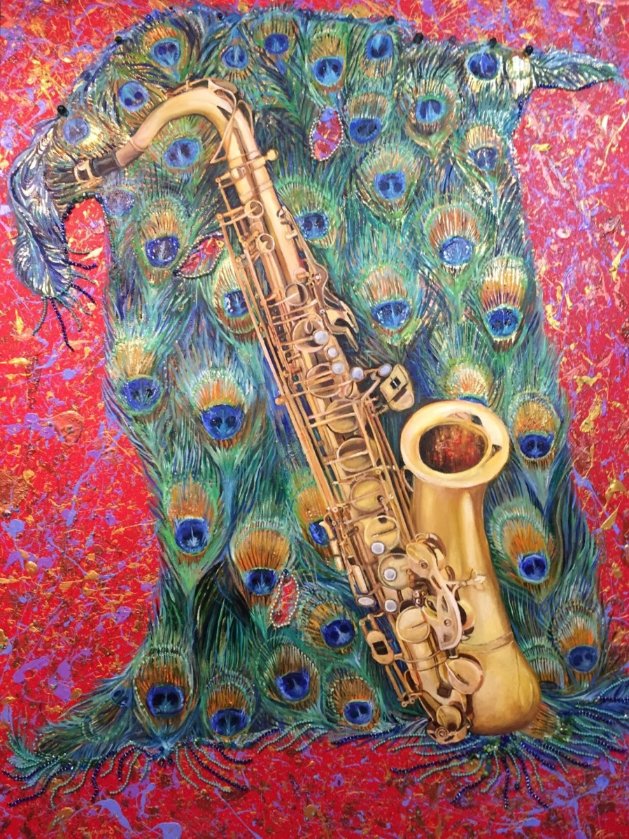 Sax on a magic Carpet Ride by Tony Mayard