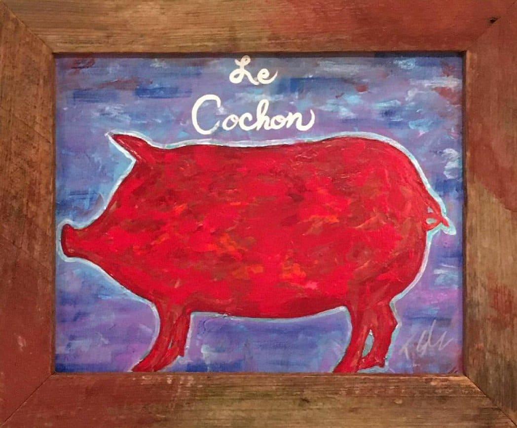 Le Cochon by Toby Elder