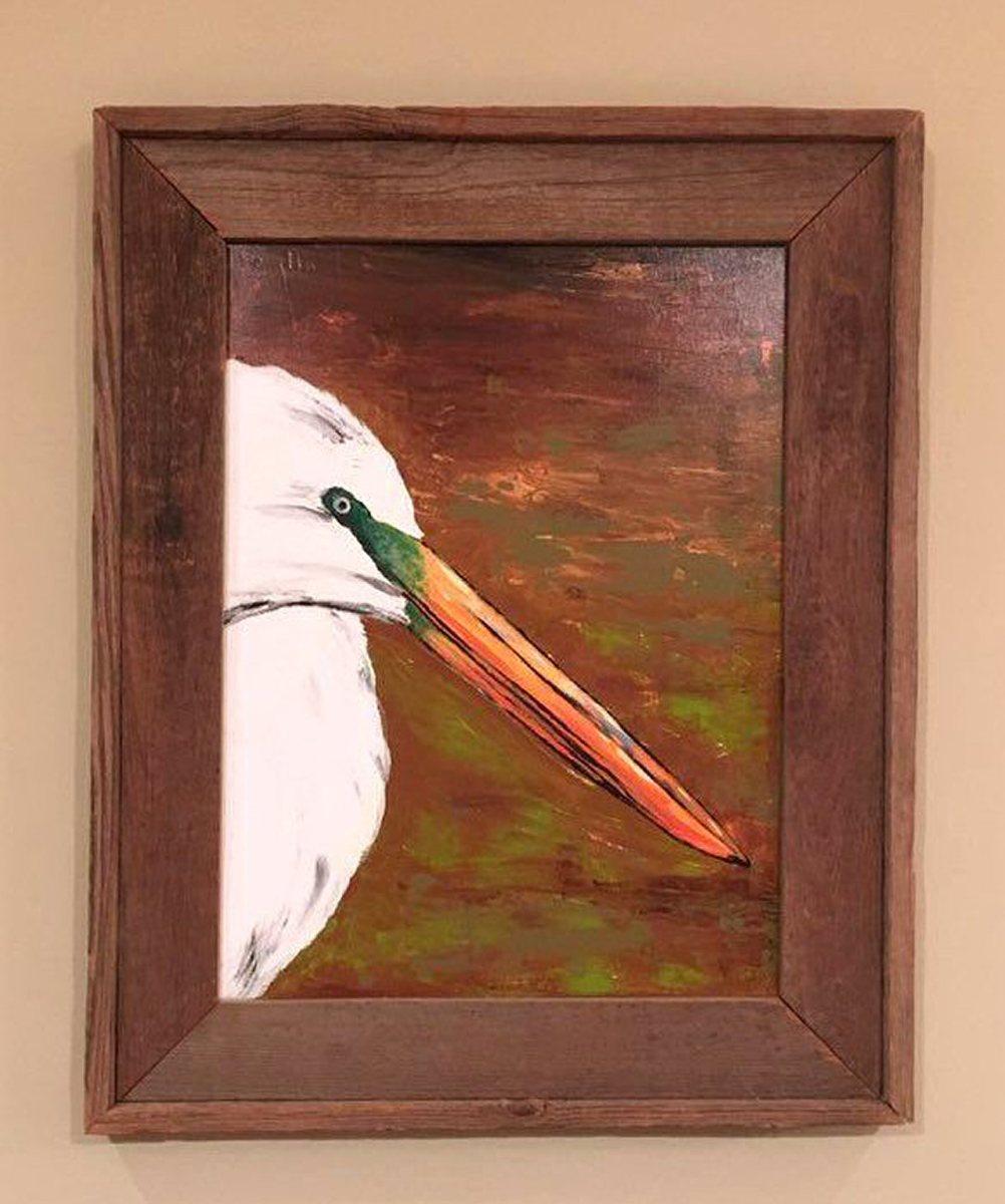 Egret by Toby Elder