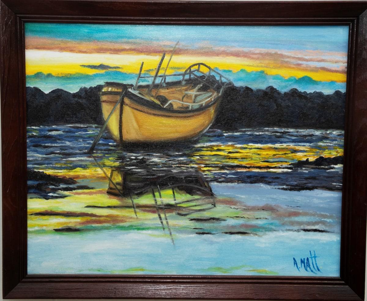 Golden Boat by Anne Matt