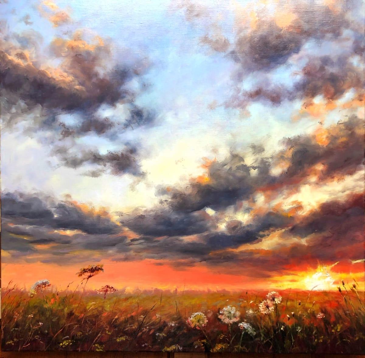 The Majesty of Sunlight by Deana Evstefeeva