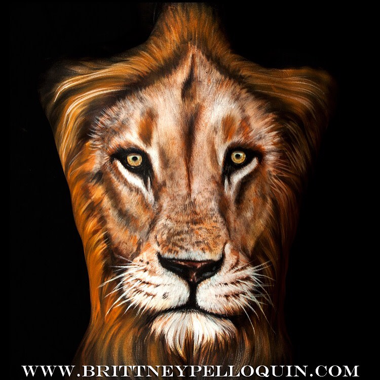 Facing the Lion by Brittney Pelloquin