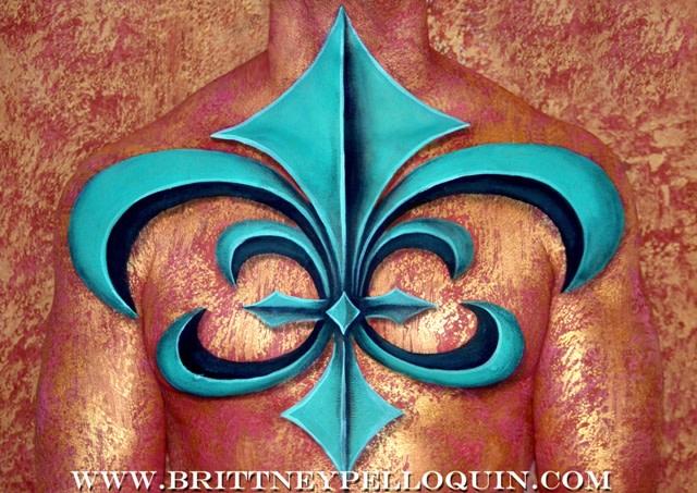 Fleur de Lis by Brittney Pelloquin