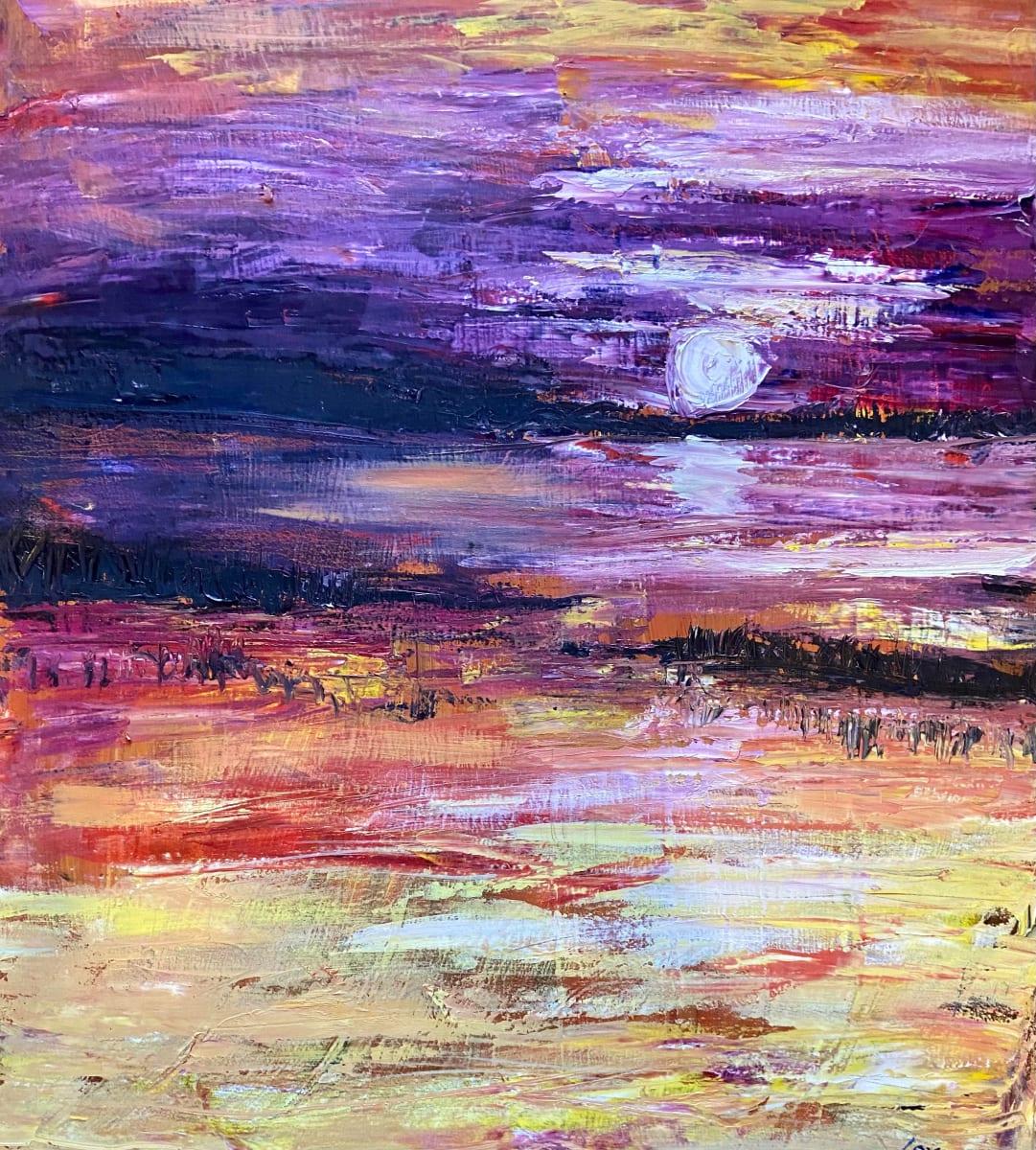 Violet Marsh by Pat Love