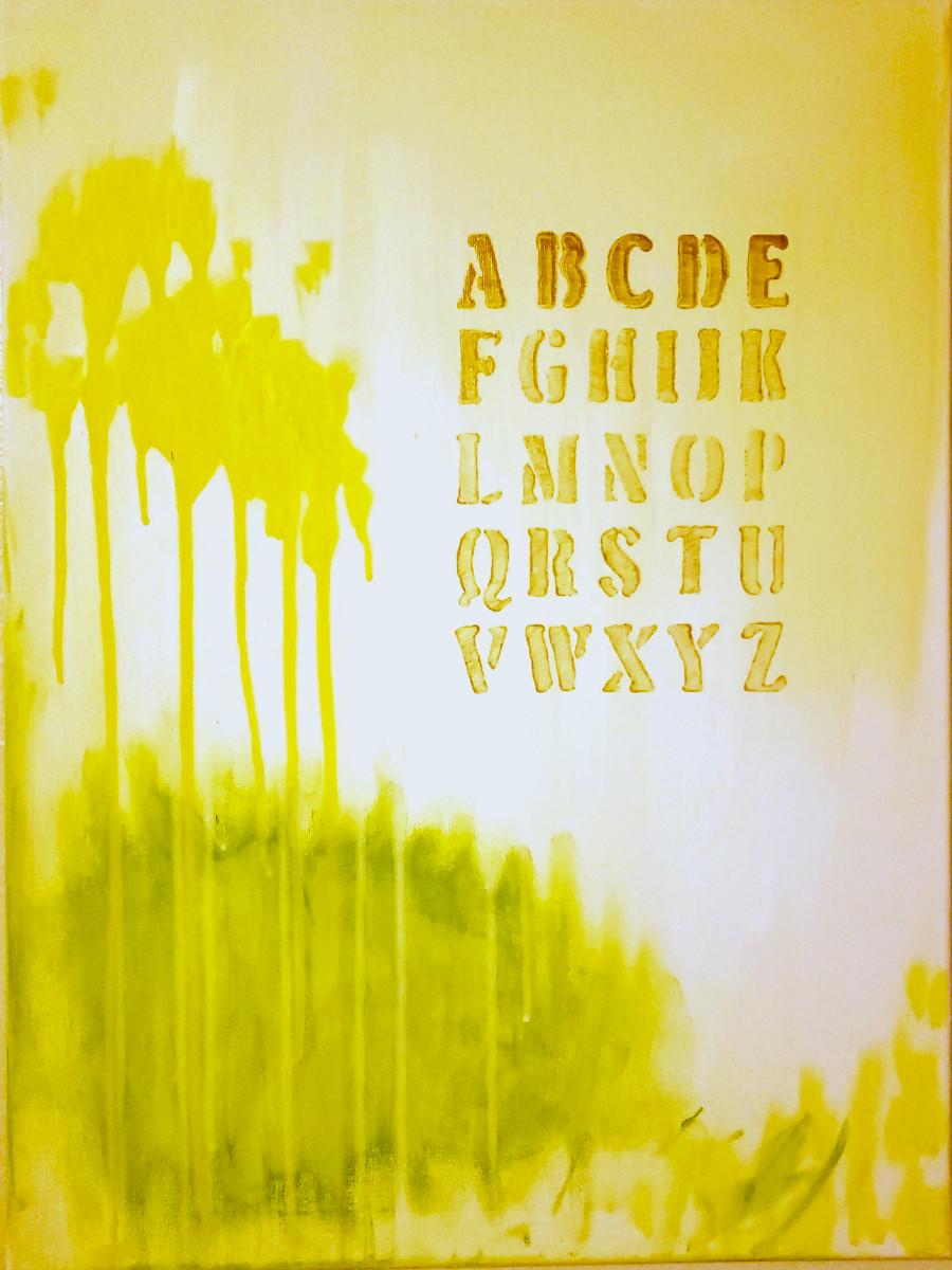 Alphabet by Adam Maillet