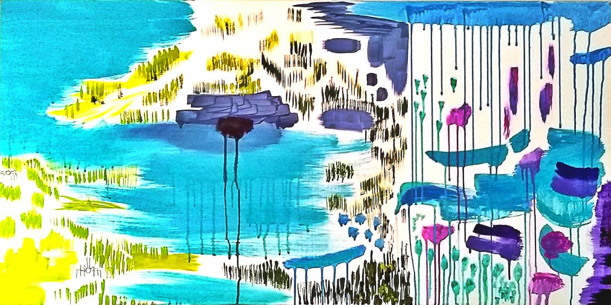 Pond Storm by Adam Maillet