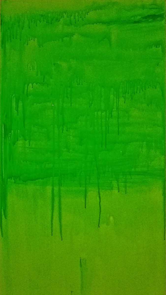 Untitled Green Field by Adam Maillet